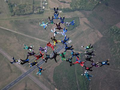 Tennessee Skydiving Club sets jump records at airport