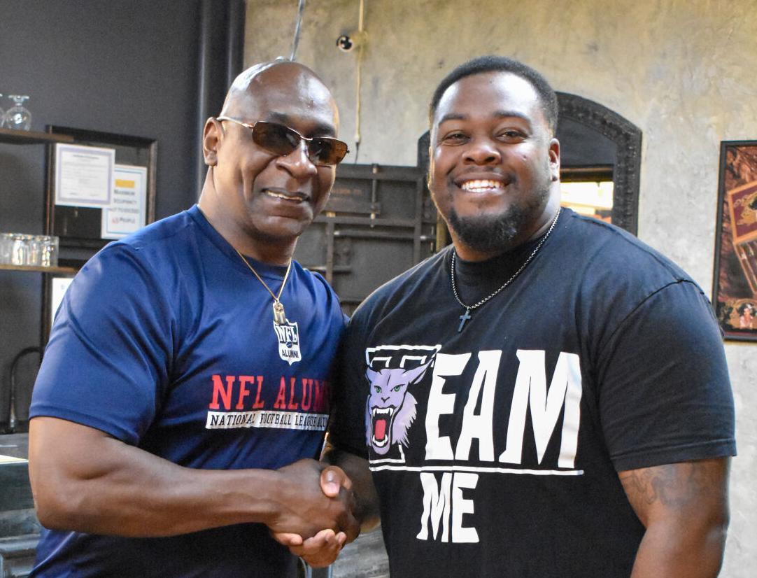 Dwight Stone and Jermaine Johnson at WAB