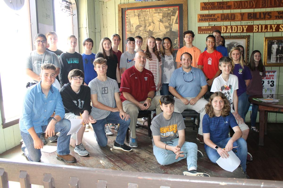 Students tour Tullahoma history