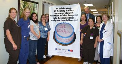 Harton recognized for leadership in improving infant health