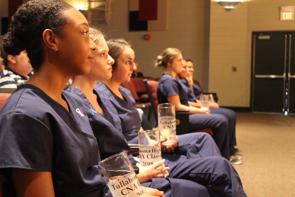 Six pinned in inaugural THS nursing program ceremony