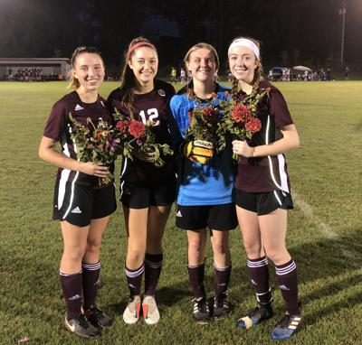 THS girls soccer senior night