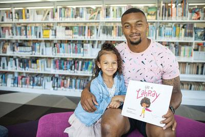 Shamiel Gary wrote a kid's book inspired by his daughter