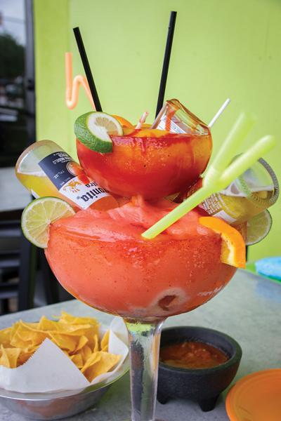 3 tequilas fiesta margarita