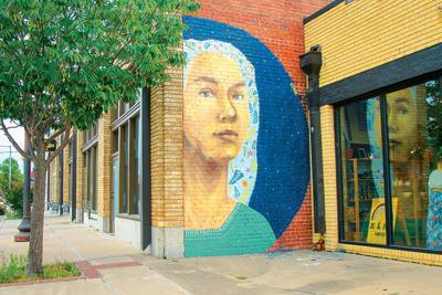 Have you seen Ghazal Ghazi's new mural?
