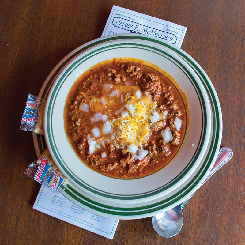 Chili at McNellie's