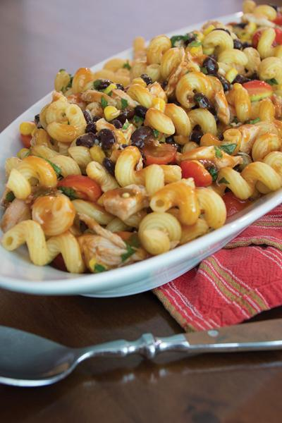 Recipe: Barbecue chicken pasta salad