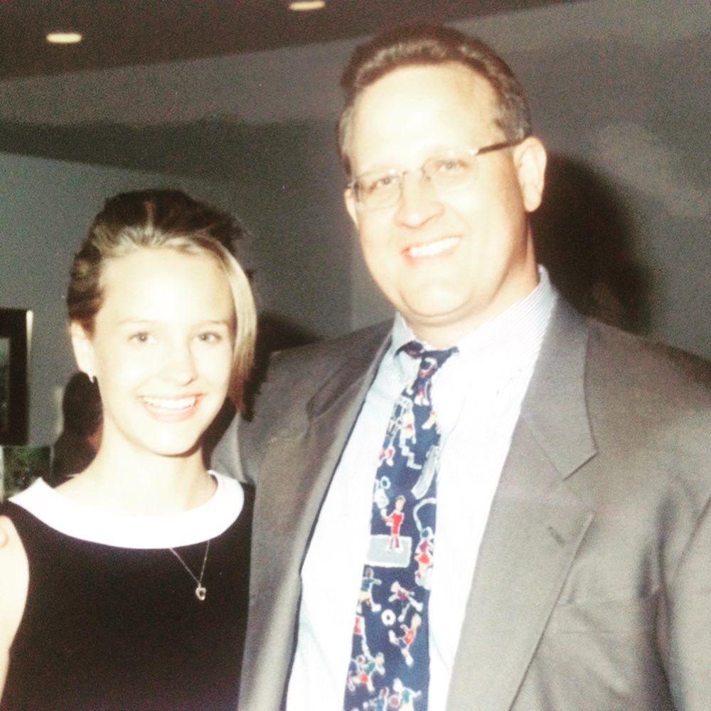 Jen Kerckhoff and father