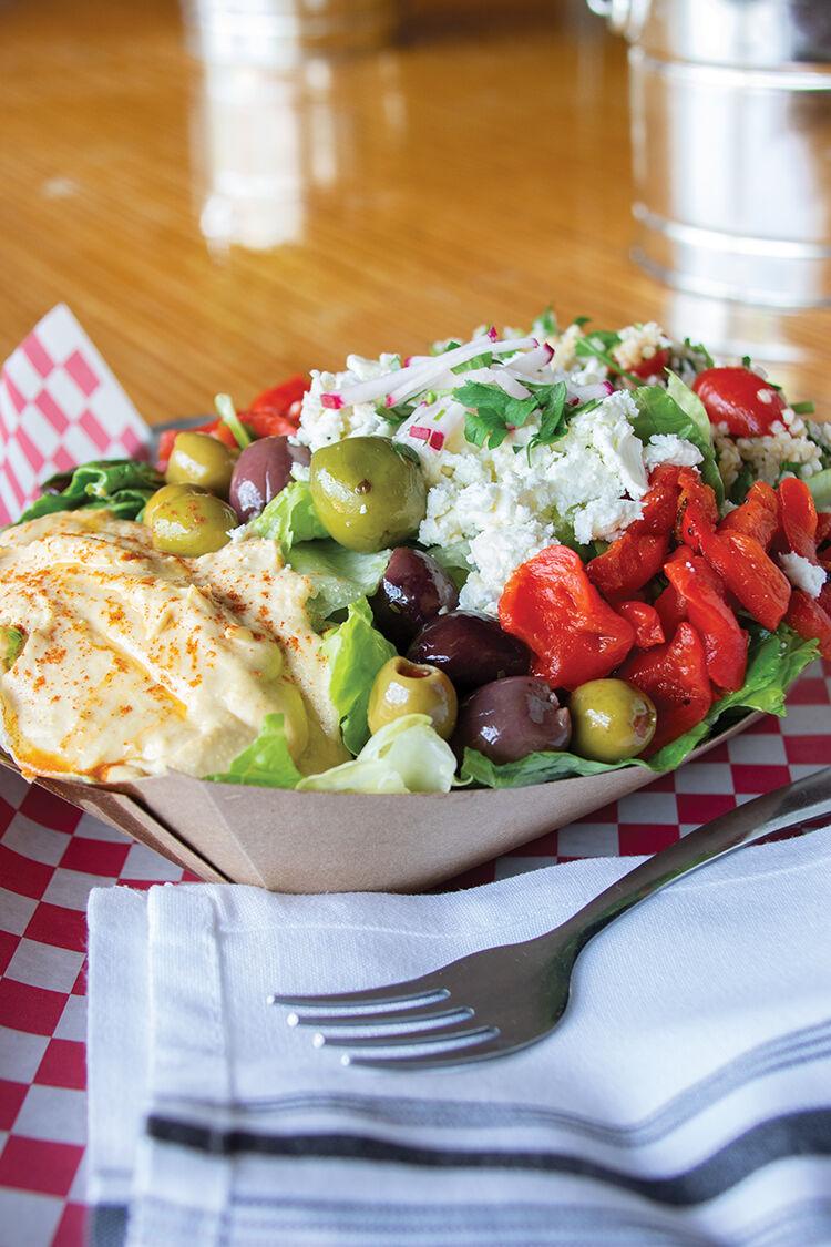 Radish Mezze salad