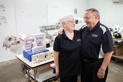 Sue and Bill Robertson of Remwood Products