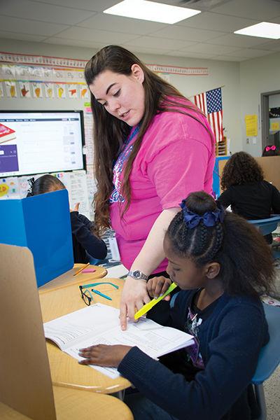 Mentoring program provides support for new teachers