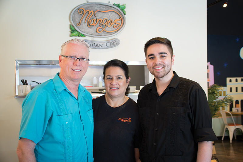 Family recipes are the focus at Mangos Cuban Cafe