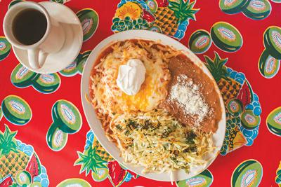 Don't sleep on El Rio Verde's breakfast menu