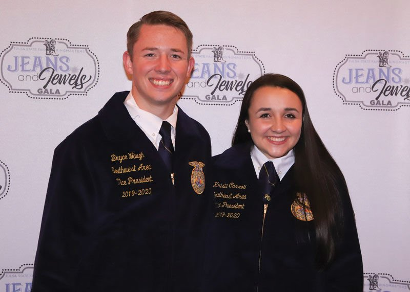 Jeans and Jewels Gala FFA State Officers