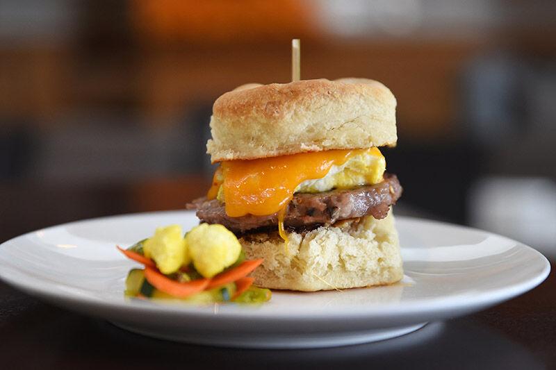 Breakfast Sandwich at Hive.jpg