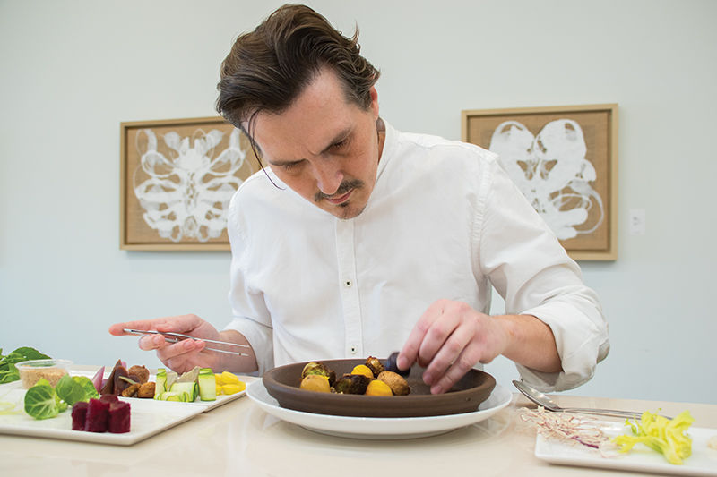 Justin Donaldson brings artistry to private catering