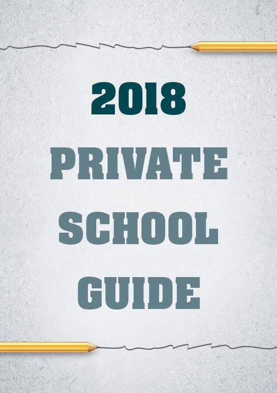 2018 Private School Guide