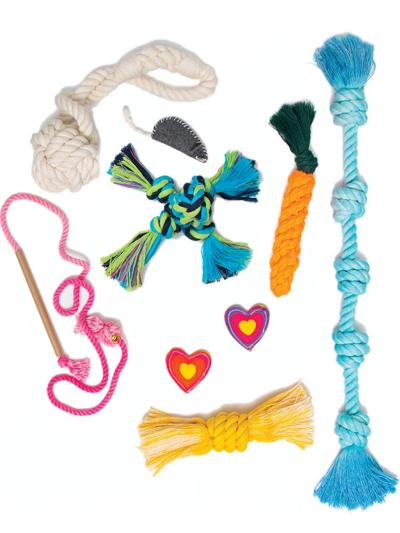 Knot Yours dog toys