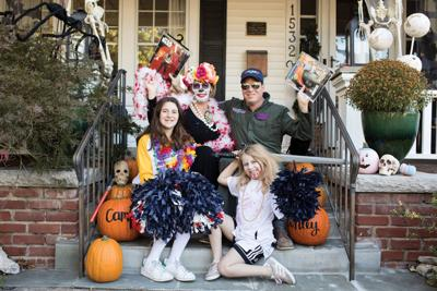 One family makes sure all kids have Halloween costumes