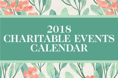 2018 Charitable Events Calendar