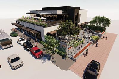 201 E. Second St. downtown development October 2019