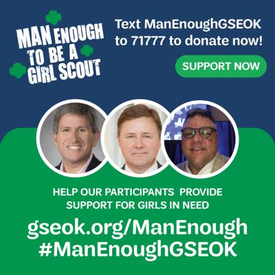Man Enough Girl Scouts