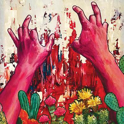 Many hands make art work