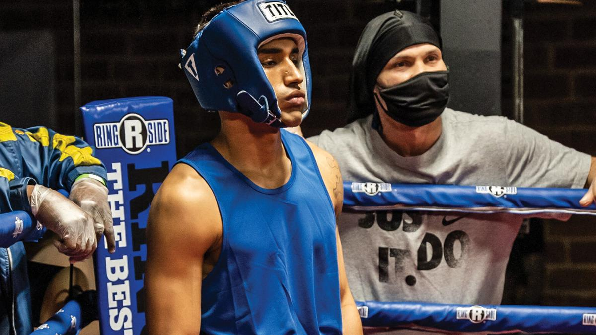 For Hakeem Eli'juwon, music and boxing are both about rhythm
