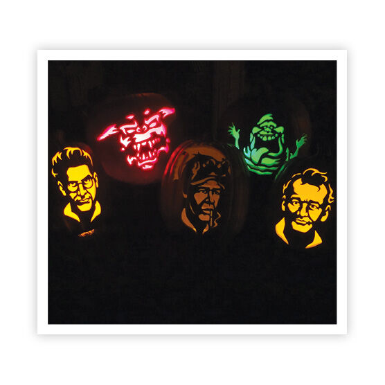 Points Ghostbusters pumpkins