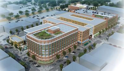 Santa Fe Square rendering
