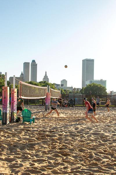 Pearl Beach volleyball
