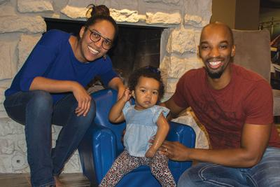 1-year-old Eden Huff is the face of Wayman Tisdale's legacy