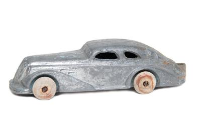 The little pewter car