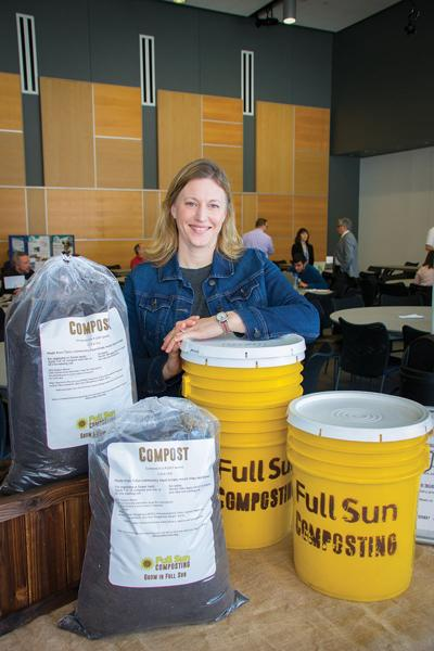 Full Sun turns food waste into quality compost