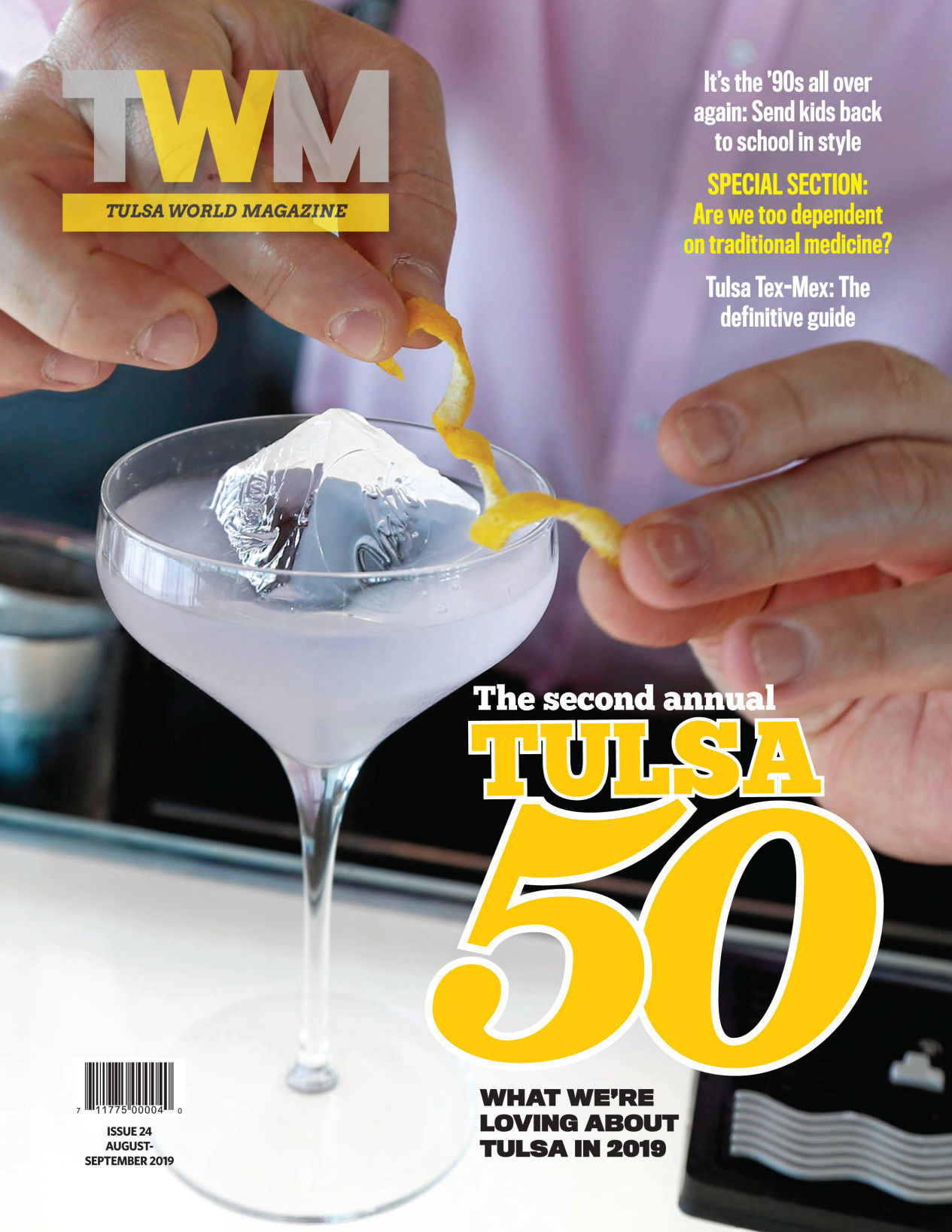 Buy the current Tulsa World Magazine: The Tulsa 50
