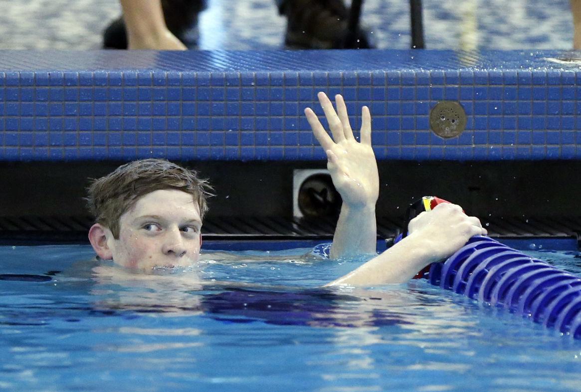 Class 5A State Swimming