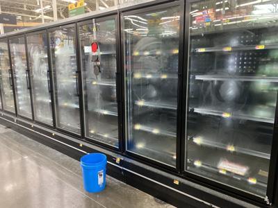Shelves at Walmart Skiatook