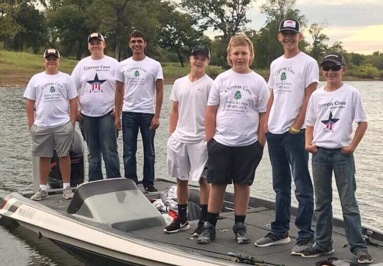2018-10-10 wcat-WHS Fishing Team
