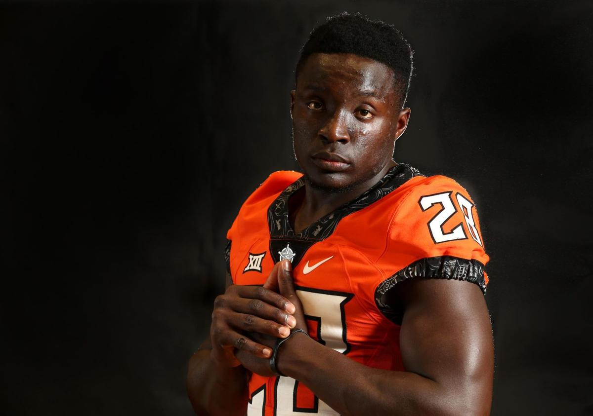True to himself: Oklahoma State wide receiver James Washington always had the ability. The ...