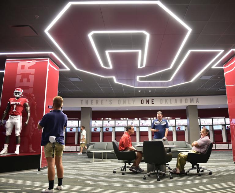 Ou Football Sooners South End Zone Complex Lives Up To