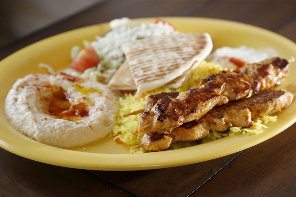 Kenda's Deli chicken kebabs