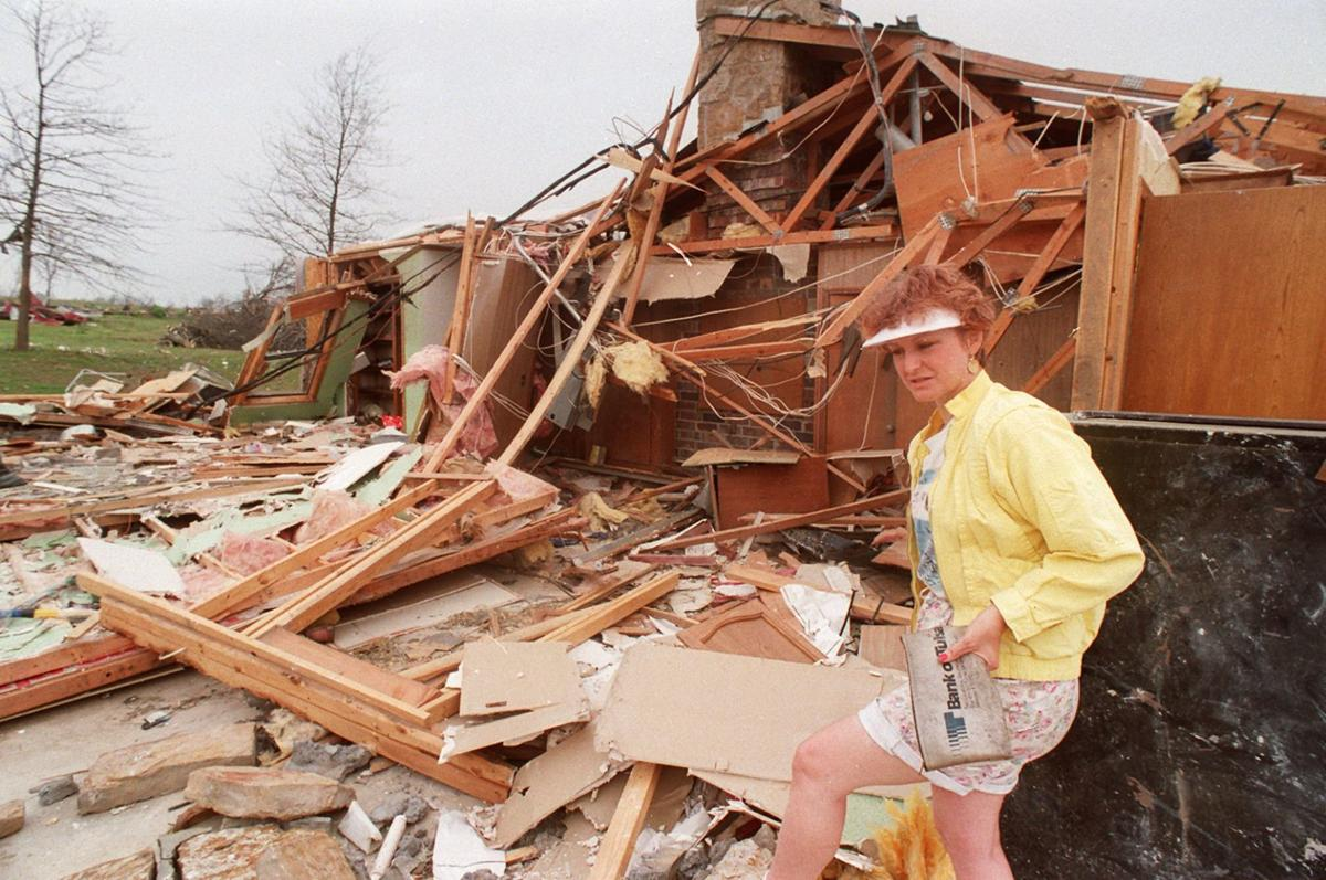 Photo gallery: The devastation of the deadly 1993 tornado