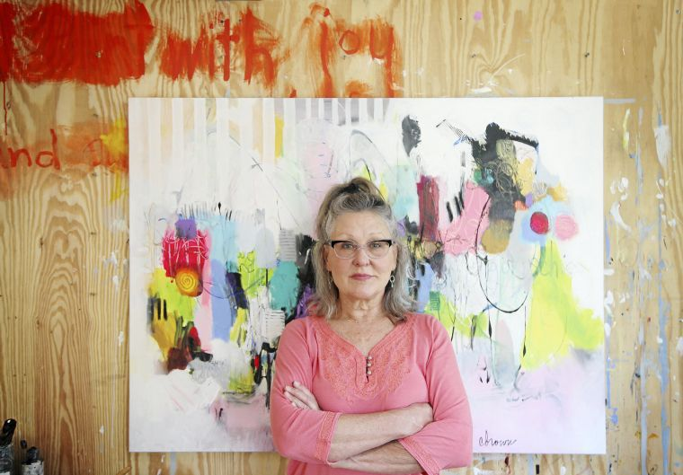Artist Cynthia Brown