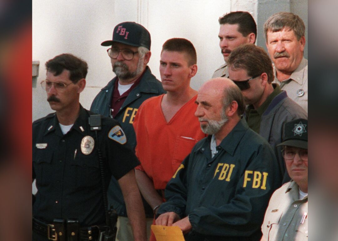 1995: Timothy McVeigh is charged