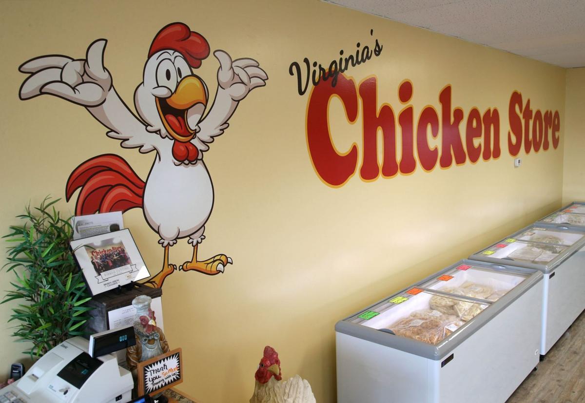 Virginia's Chicken decoration