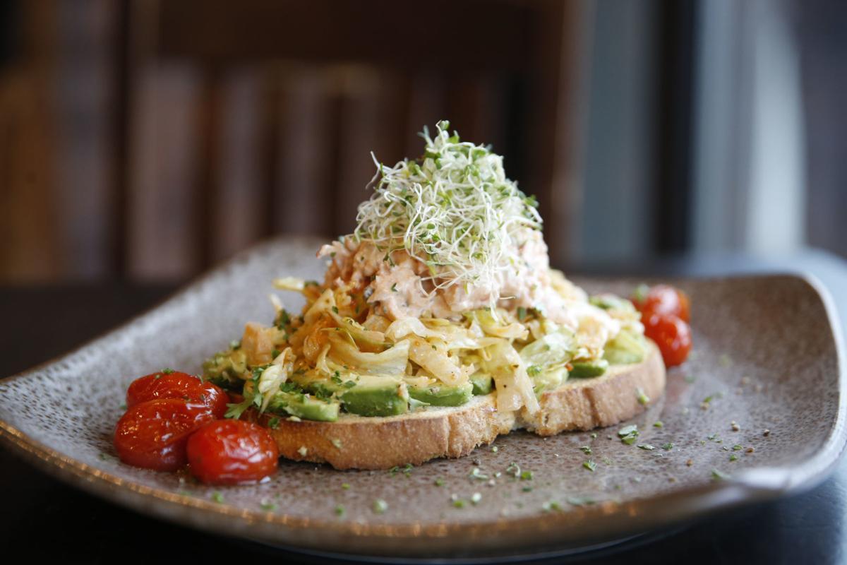 Cosmos Cafe avocado toast