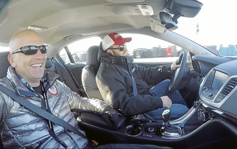 Major dan rooney on a mission to leave no family behind for Atlanta motor speedway ride along