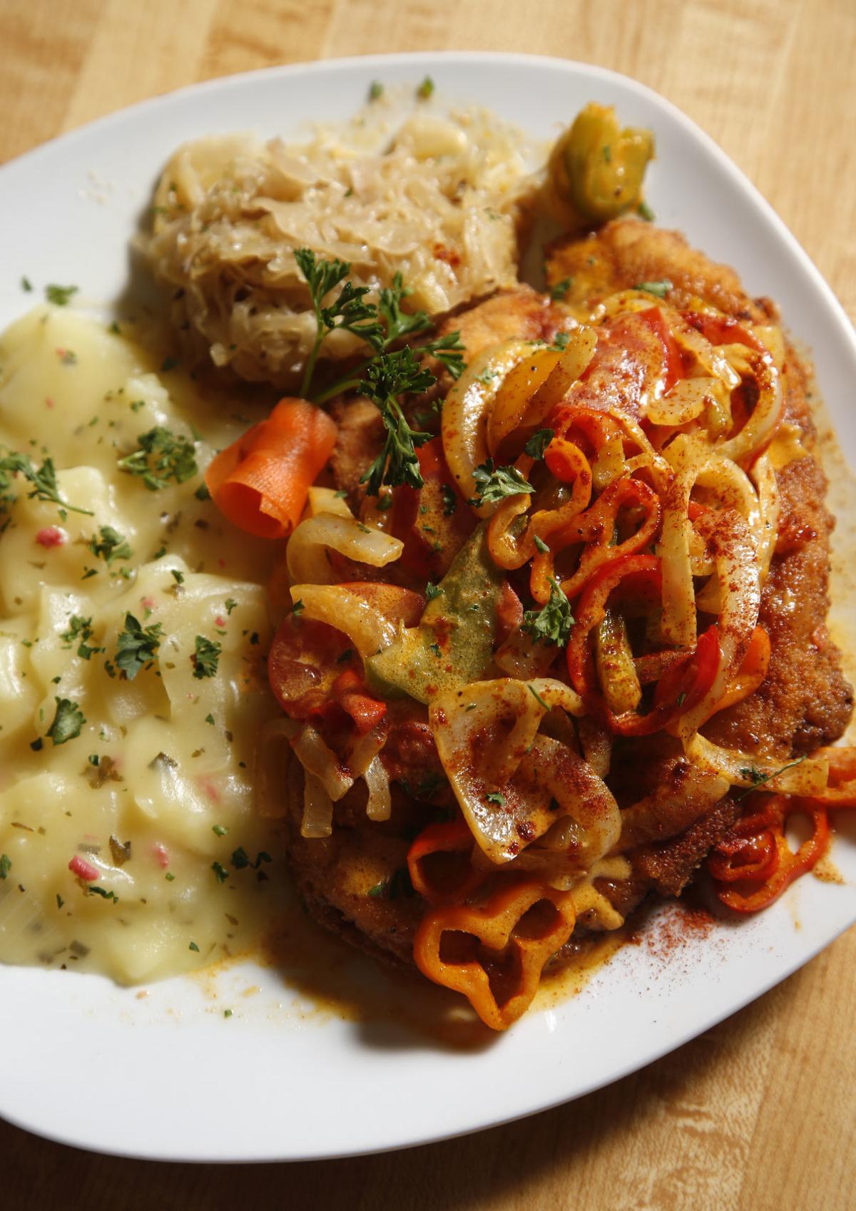Margaret's zigeuner schnitzel 2