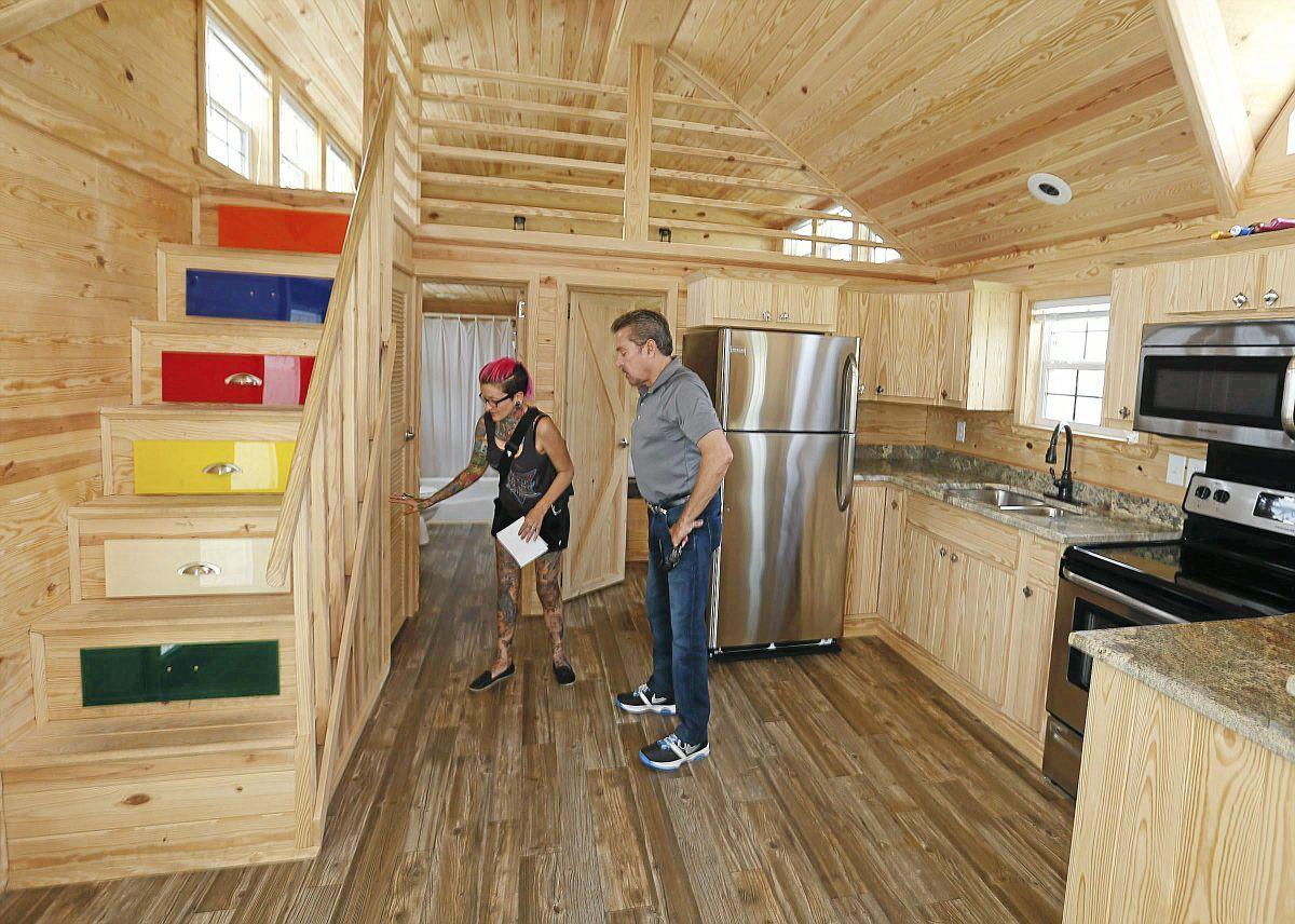 Pleasing Tiny Homes A Big Time Draw For Many Prospective Buyers Home Interior And Landscaping Palasignezvosmurscom