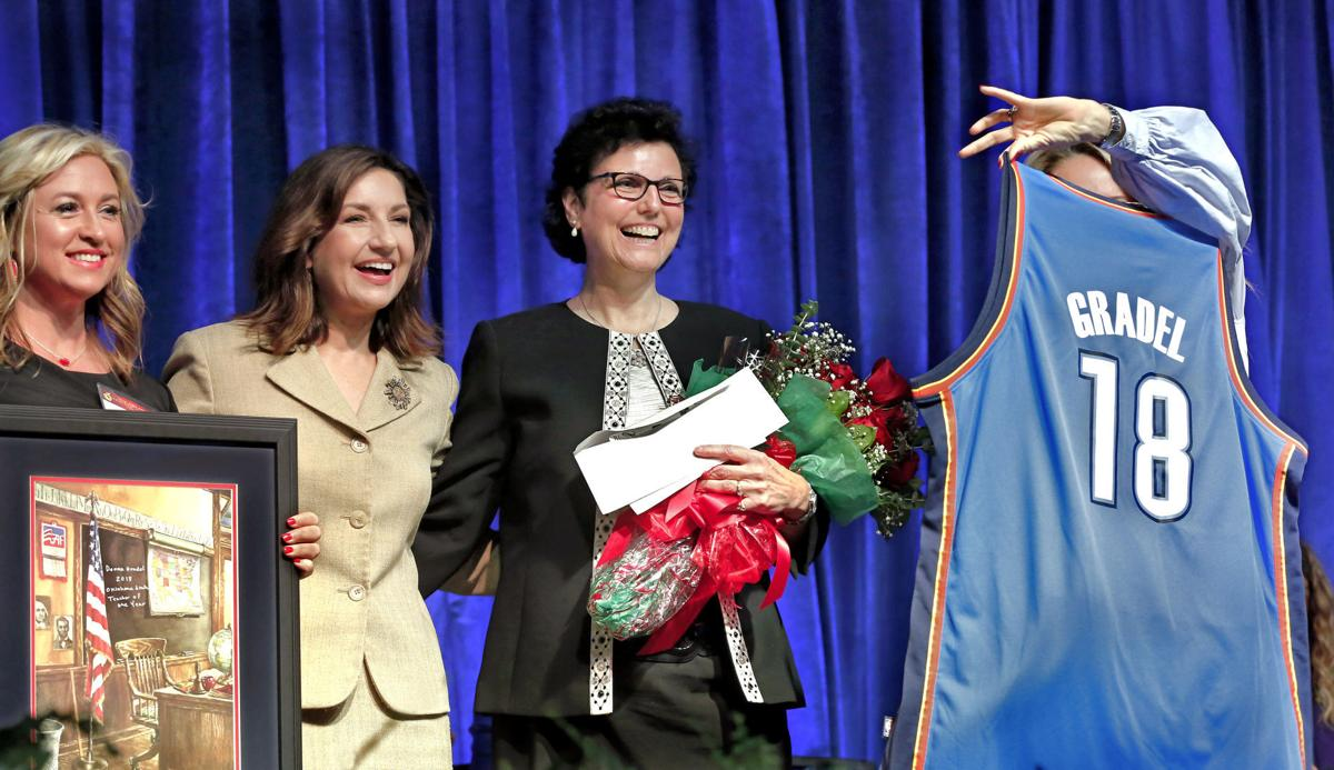 STATE TEACHER OF THE YEAR
